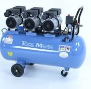 TM TM 100 Liter professioneller geräuscharmer Kompressor 2,25 PS 230 V.