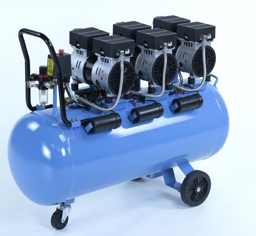 TM 100 Liter professioneller geräuscharmer Kompressor 2,25 PS 230 V.