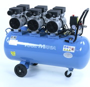 TM 100 Liter Professionele Low Noise Compressor 3HP 230v