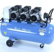 TM TM 150 Liter professioneller geräuscharmer Kompressor 3 PS 230 V.