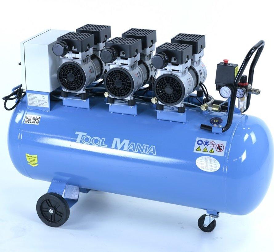 TM 150 Liter Professionele Low Noise Compressor 3HP 230v