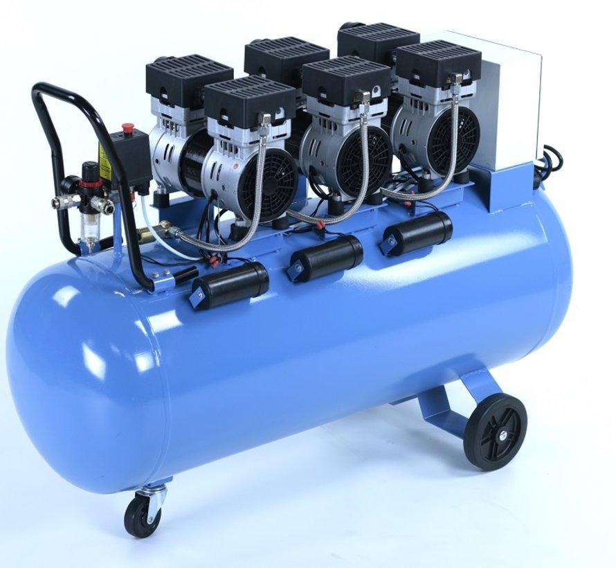 TM 150 Liter professioneller geräuscharmer Kompressor 3 PS 230 V.