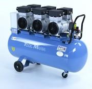 TM TM 150 Liter professioneller geräuscharmer Kompressor 4,5 PS 230 V.