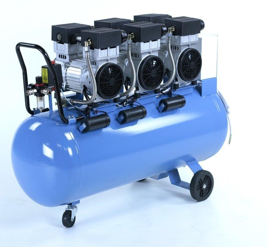150 Liter Professionele Low Noise Compressor 4,5HP 230v