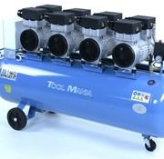 TM Professioneller geräuscharmer 200-Liter-Kompressor 6 HP 230v