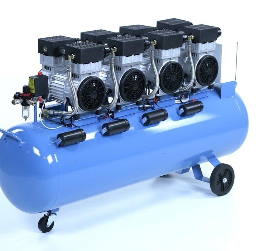 Professioneller geräuscharmer 200-Liter-Kompressor 6 HP 230v