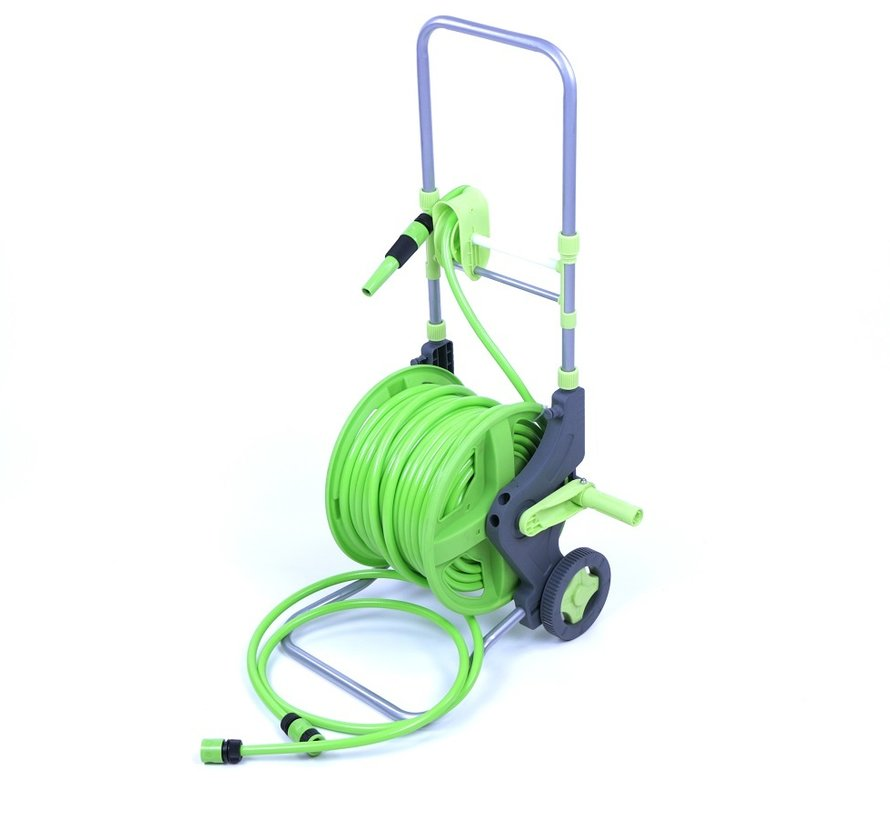 TM 45M Trolly water hose reel with ergonomic handle