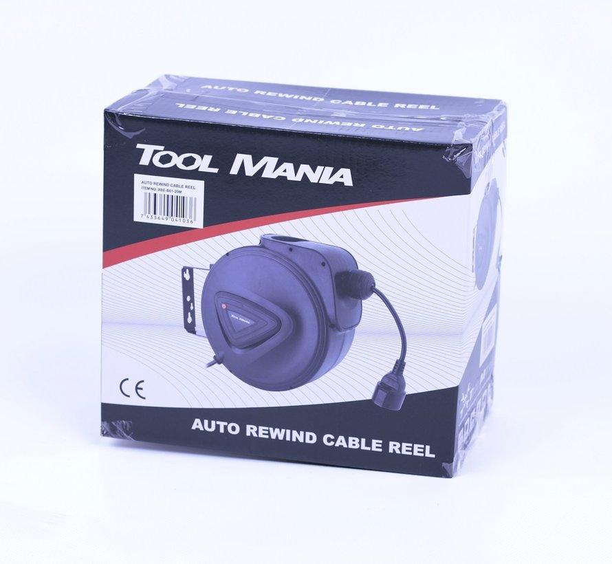 TM 20 Meter Automatische Stroomhaspel / Kabelhaspel