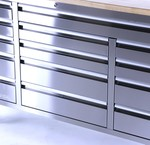 Tool trolleys stainless steel