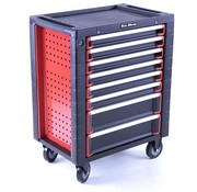 TM TM 8 Drawers premium Tool trolley BLACK / Red