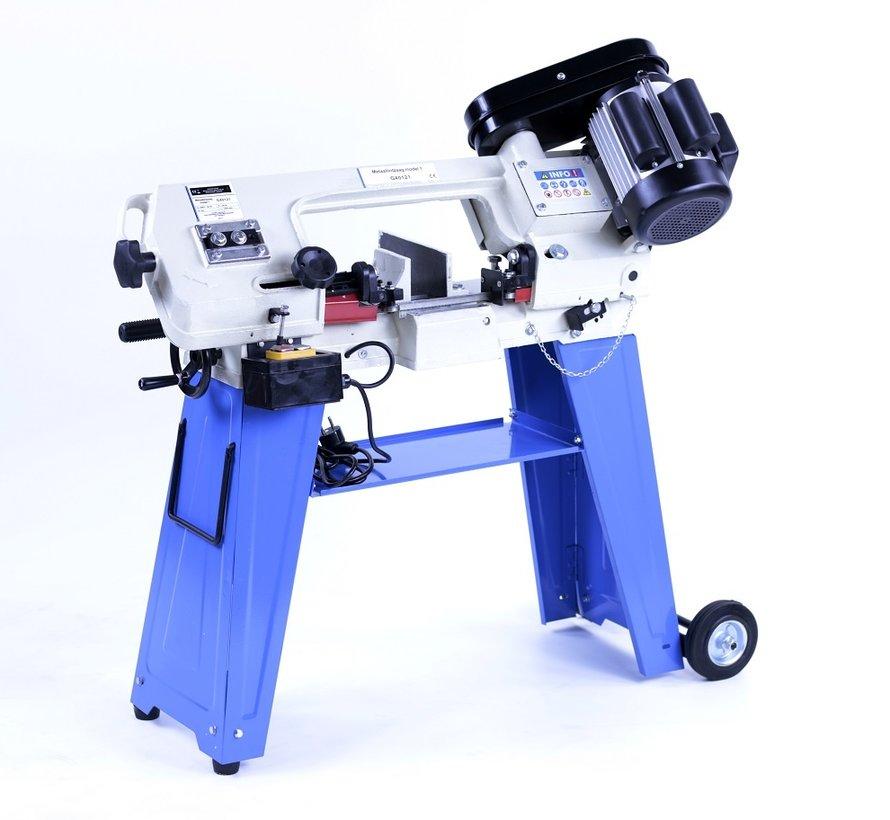 TM 125 Metaallintzaag Bandzaagmachine Horizontaal en Verticaal