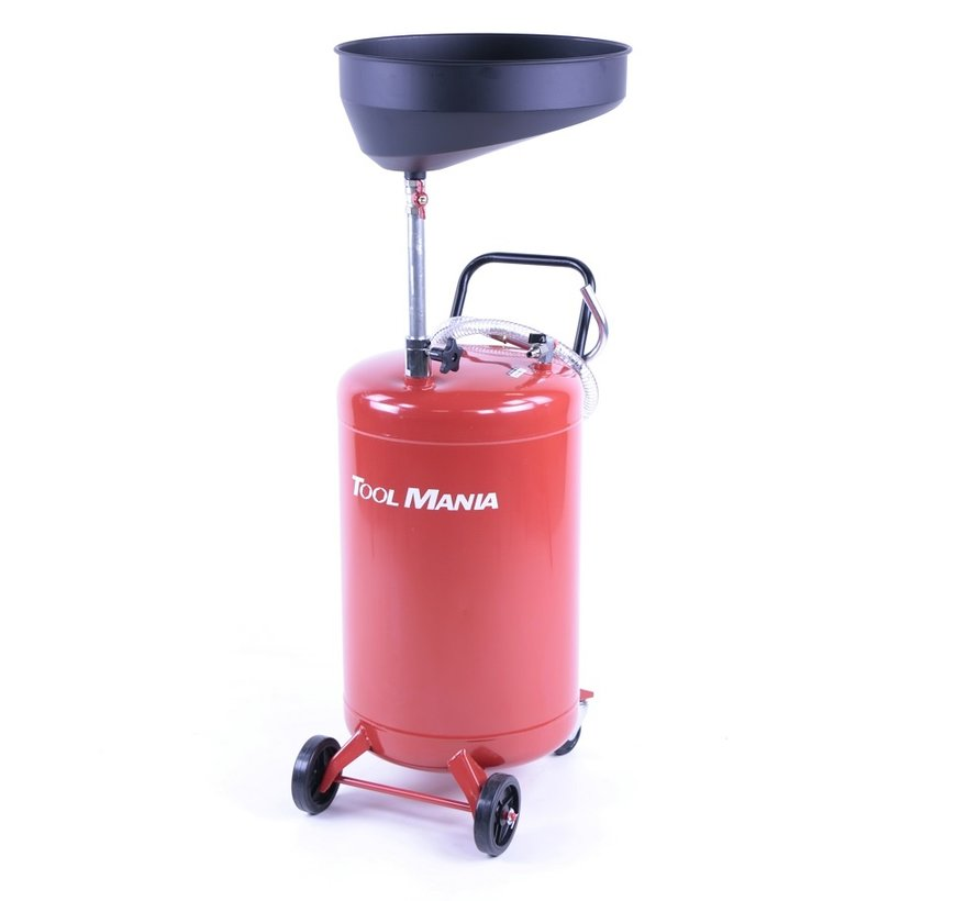TM Oil collection system with Steel tray RED
