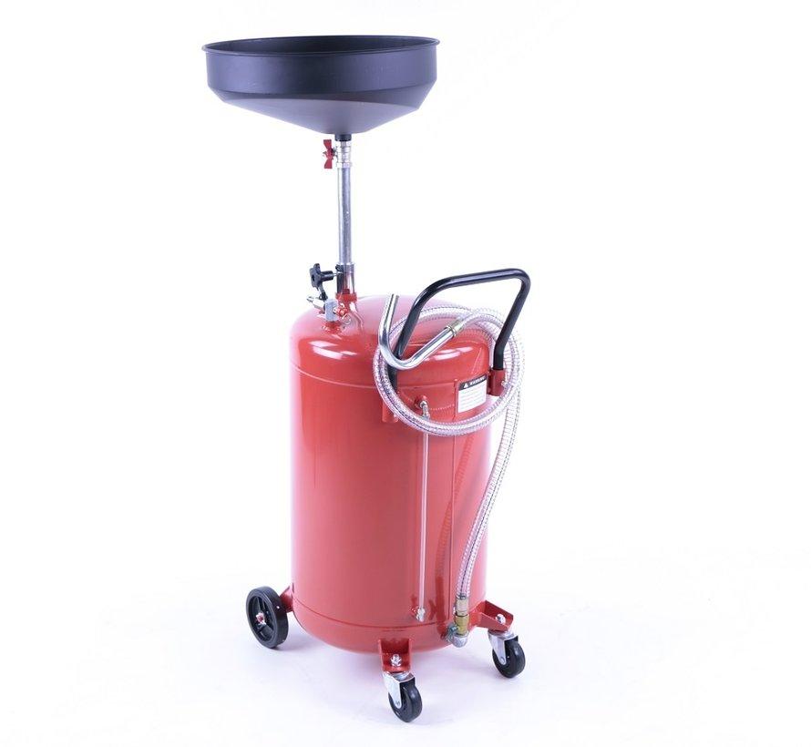 TM Ölsammelsystem mit Stahlwanne ROT