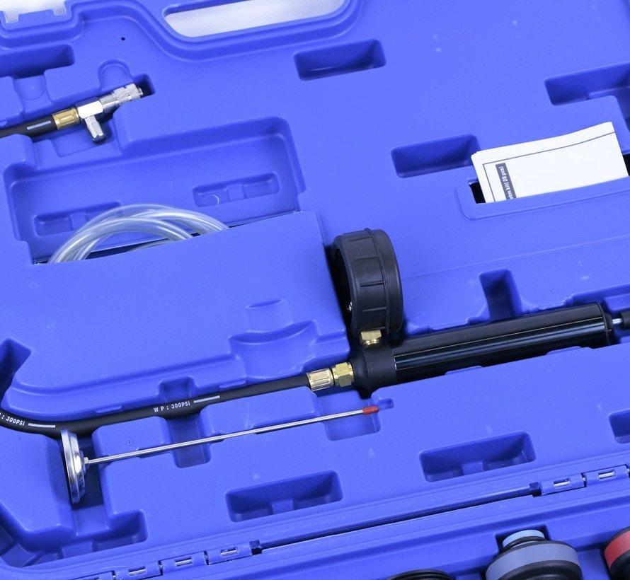 TM 28-teiliges Diagnose- / Erpressungs- und Füllset für Kühlsysteme