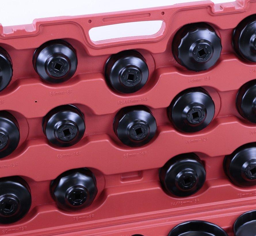 Demontage des TM 30-teiligen Ölfilters - Ölfilterdeckel