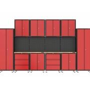 TM Komplettes modulares Garagenlayout