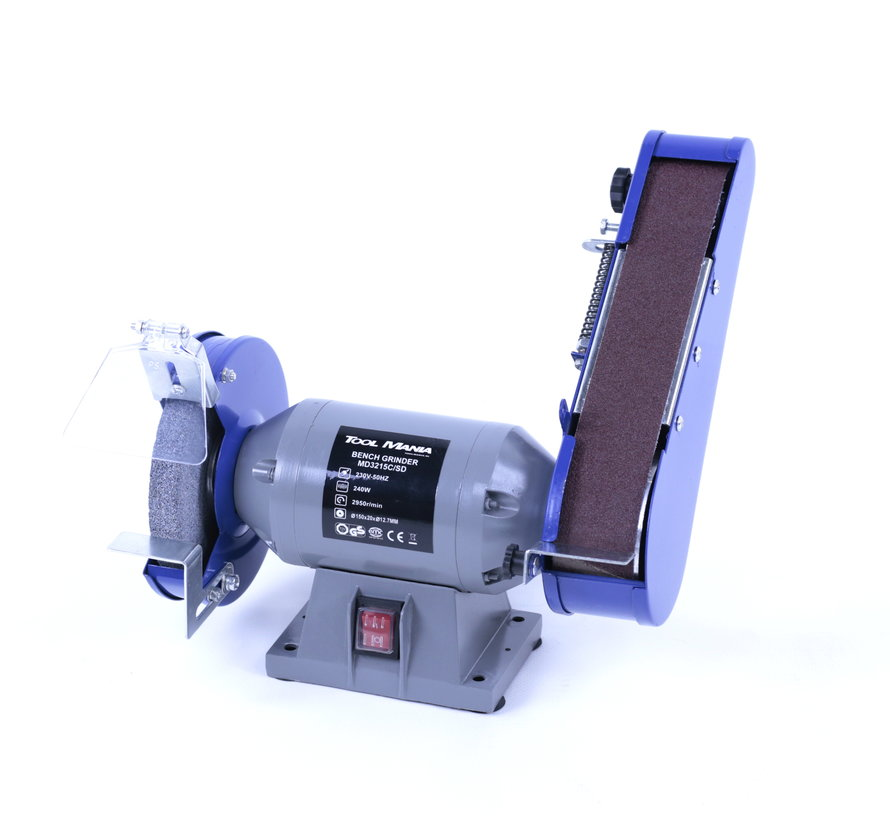 TM 150 mm Slijpmachine en Bandschuurmachine