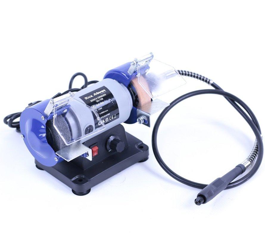 TM 75 mm Schleifer und Polierer mit flexibler Welle