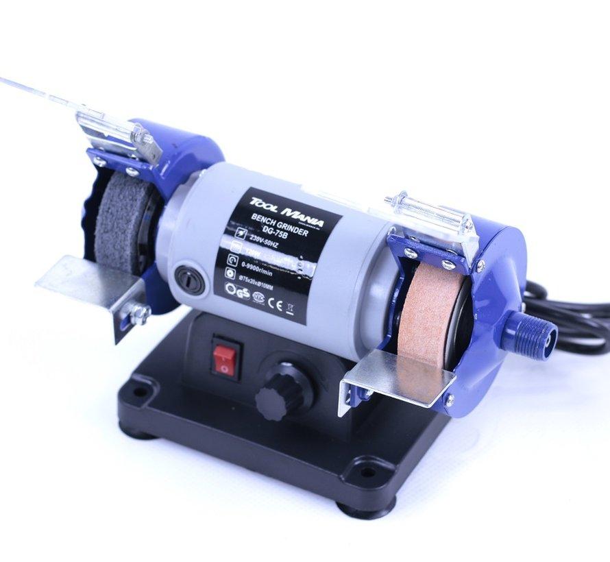 TM 75 mm Slijpmachine en Polijstmachine met Flexibele As