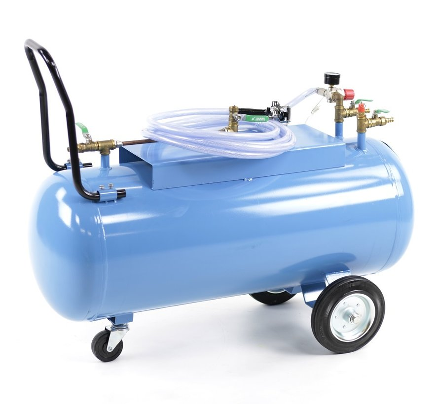 TM Dry foam maker with gun and 100l tank