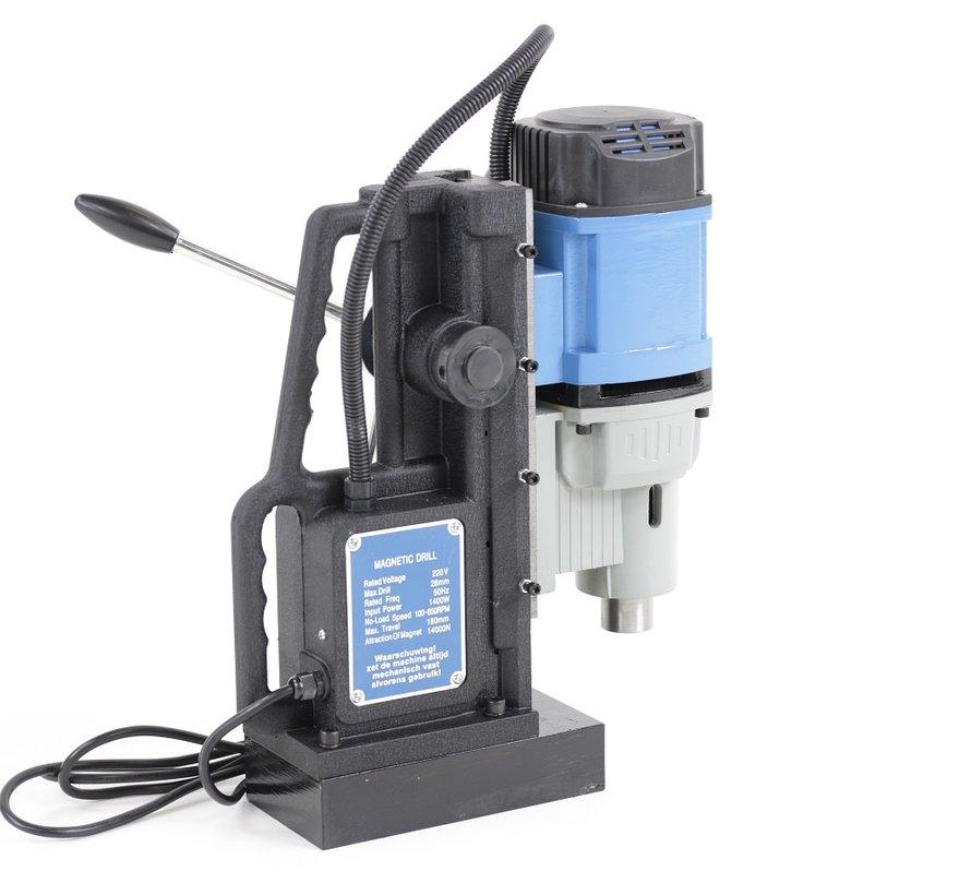 TM Magneetboormachine met MT2 en MT3 opname en Variabel Toerentalregeling 230V