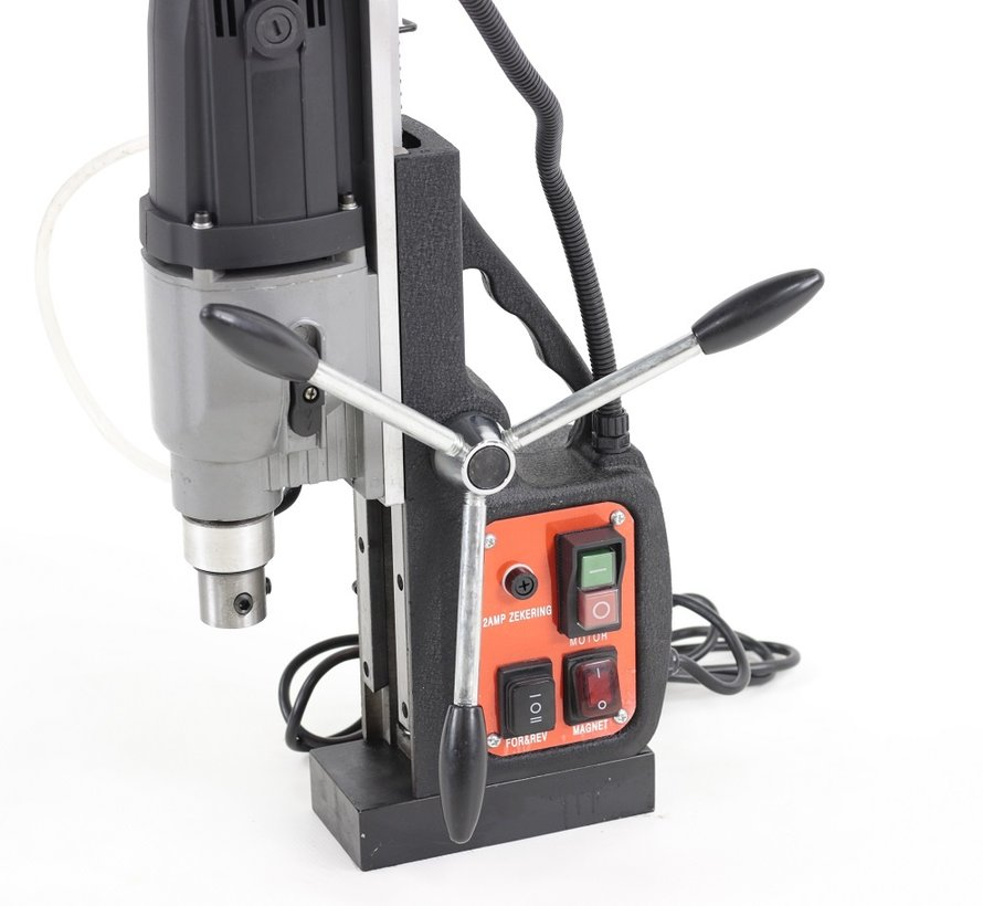 TM Magnetic drilling machine with Tap function and Weldon recording