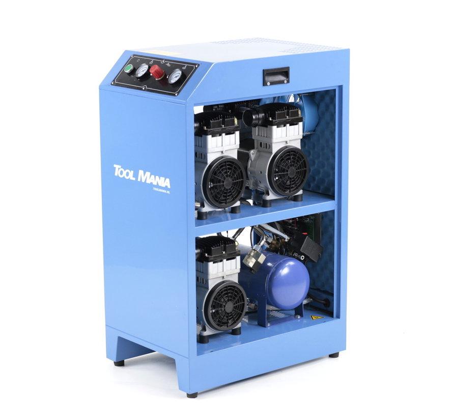 TM DENTAL ULTRA Low Noise Compressors V3 mit 270l Druckbehälter