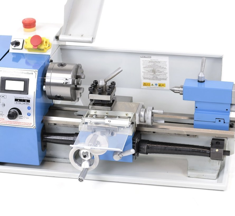TM 180 x 300 Vario Metal lathe with digital display