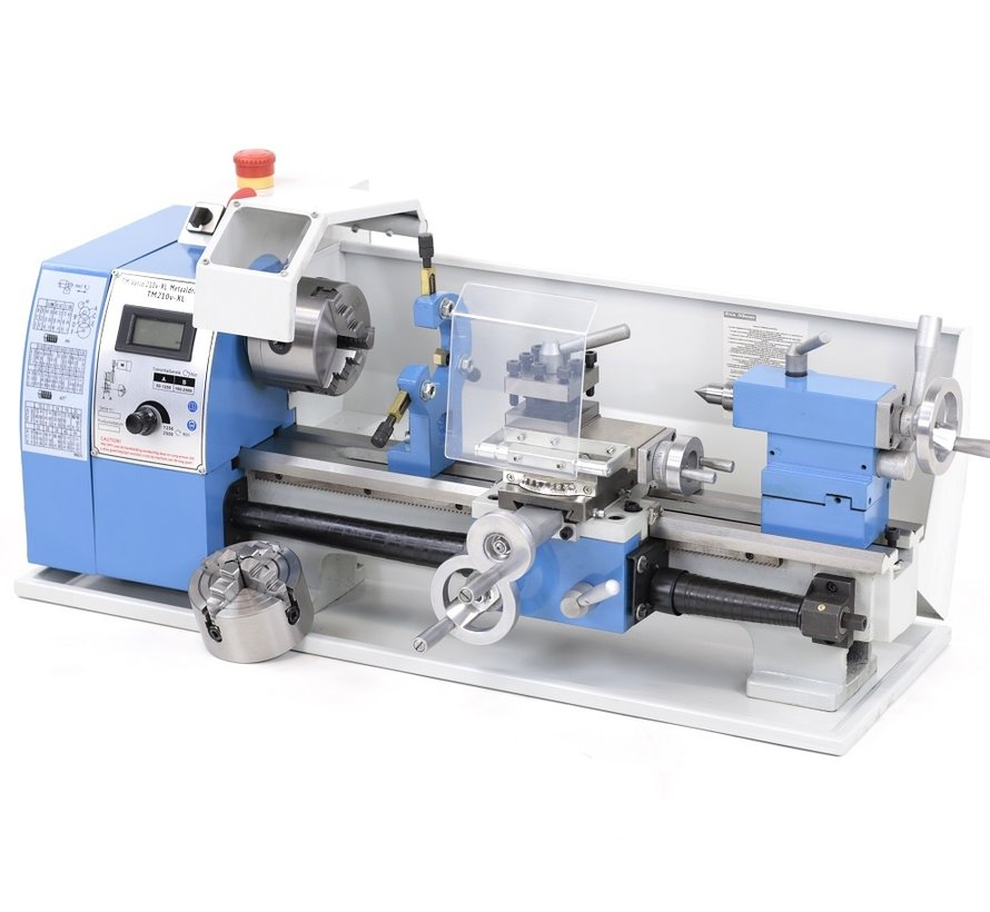 TM 210 x 400 Vario Metalldrehmaschine mit Digitalanzeige Komplett