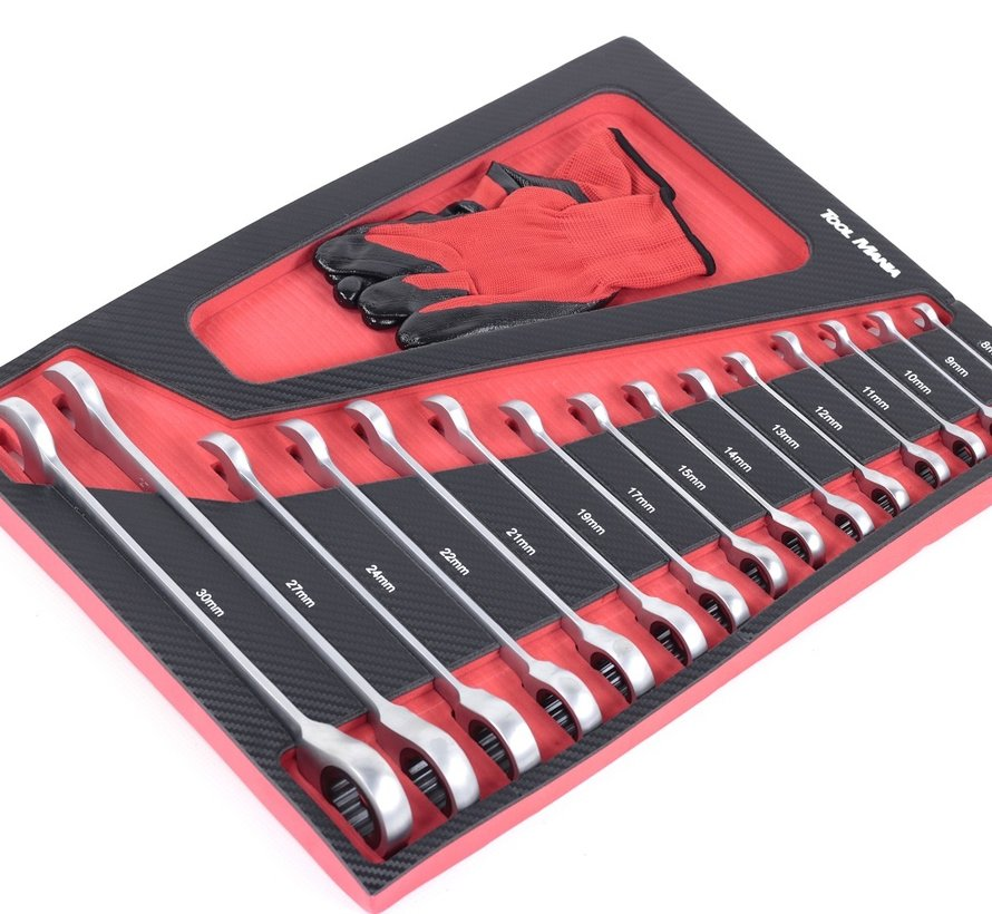 TM Premium Werkzeugfüllung mit Carbon Look Inlay Modell 2