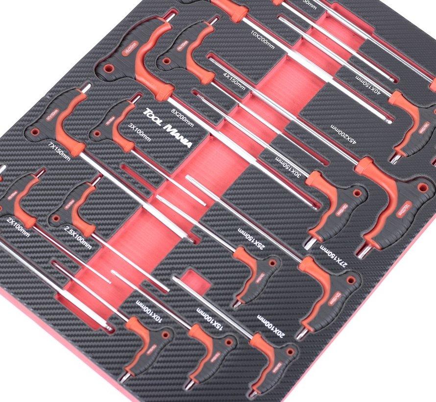TM Premium Gereedschapsvulling Met Carbon Look Inlay Model 5