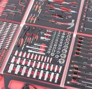 TM TM 262-teiliges Premium-Werkzeug, das mit Carbon-Look gefüllt ist
