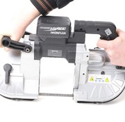 TM TM 114 Professional Portable Variable Metal Band Saw Machine with 18v battery