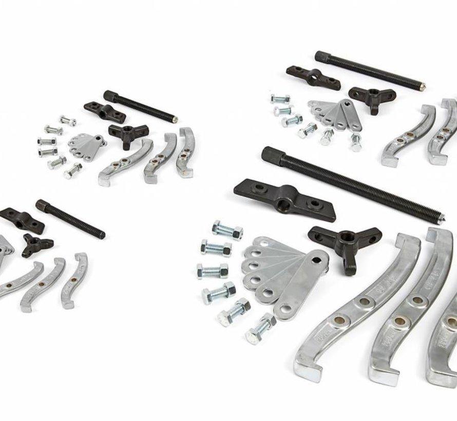 TM 72 Delige 2 en 3 Arm Poelietrekker Set 75 / 100 / 150 / 200 mm