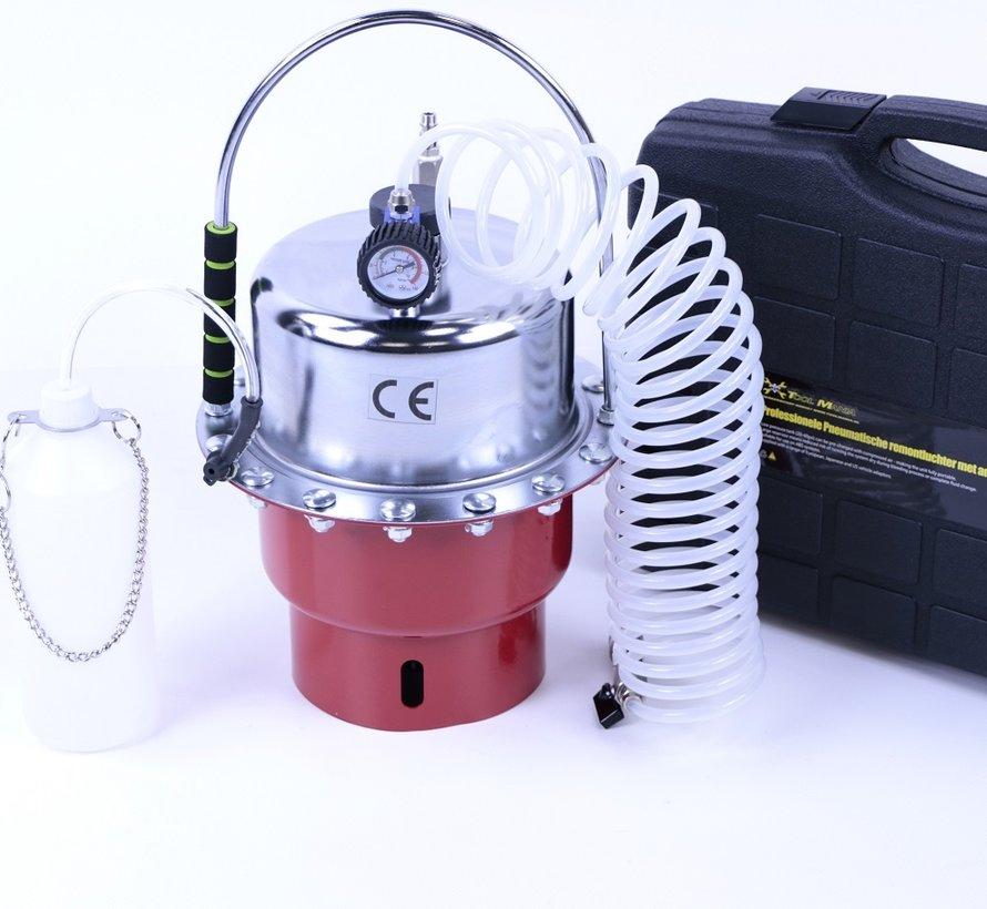 TM Professionele Pneumatische remontluchter met adapterset