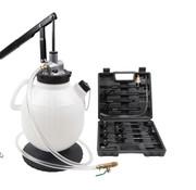 TM TM Profi DSG Getriebefüllpumpe 7,5 Liter mit 15-teiligem Adaptersatz