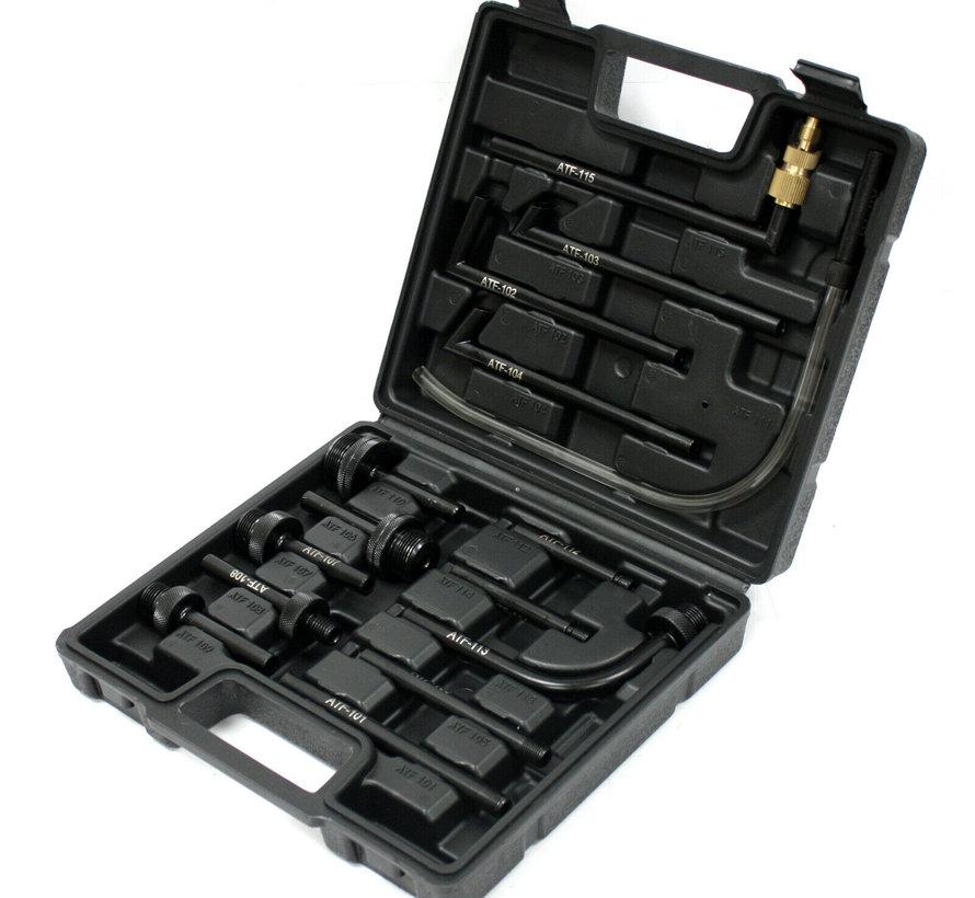 TM Profi DSG Getriebefüllpumpe 7,5 Liter mit 15-teiligem Adaptersatz
