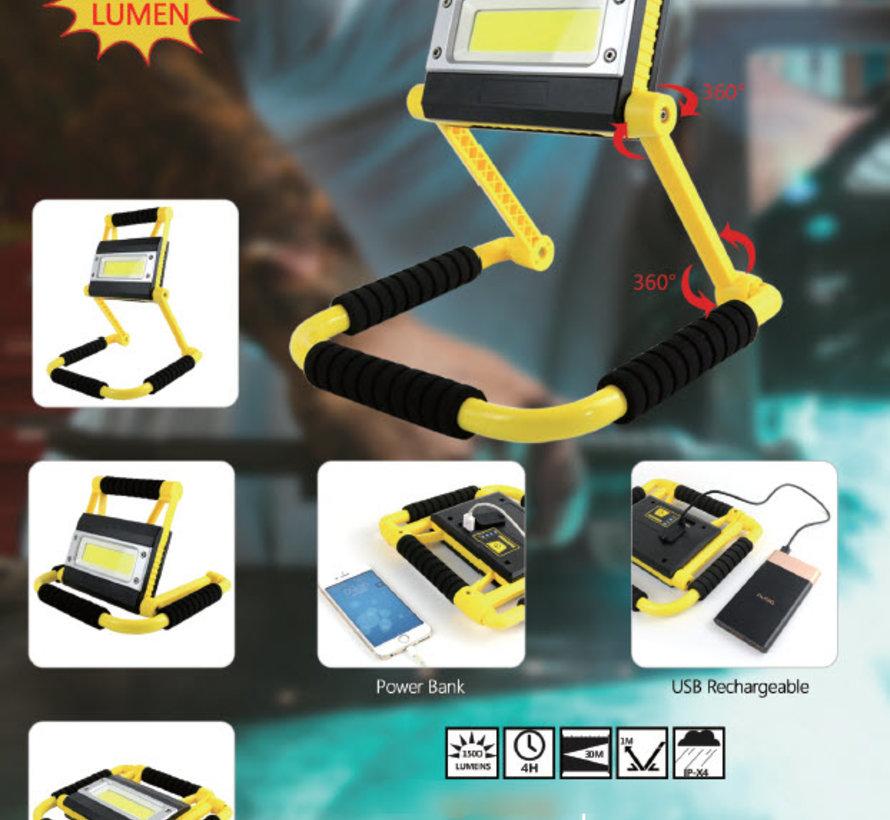 TM LED Werklamp - Bouwlamp COB led 20W 1500 Lumen