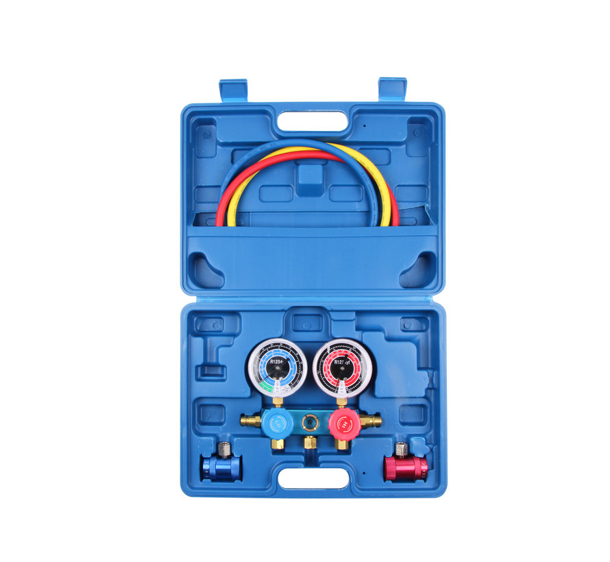 TM Airco diagnose Set voor R1234YF gas