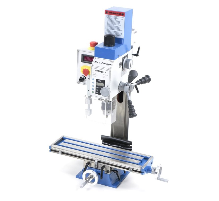 TM BF 16 Milling Machine Large Table V2