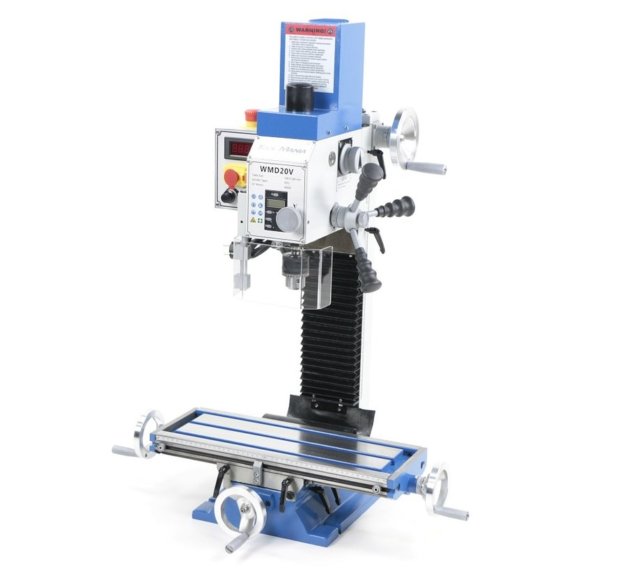 TM BF 20 Milling Machine Large Table V2