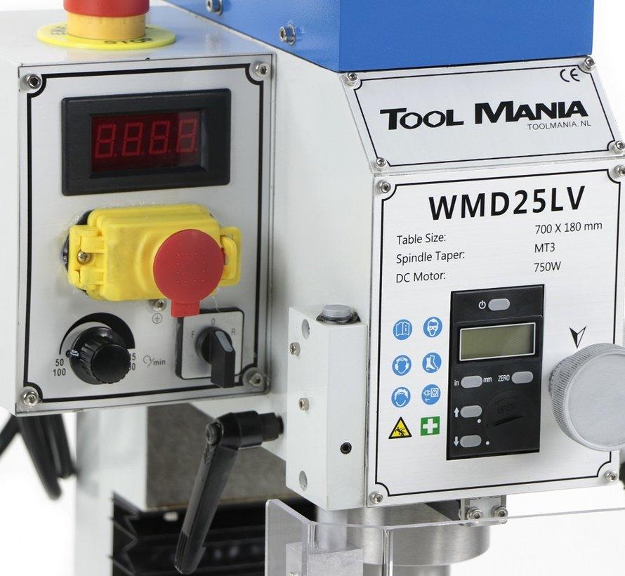 TM BF 25 Milling Machine Large Table V2