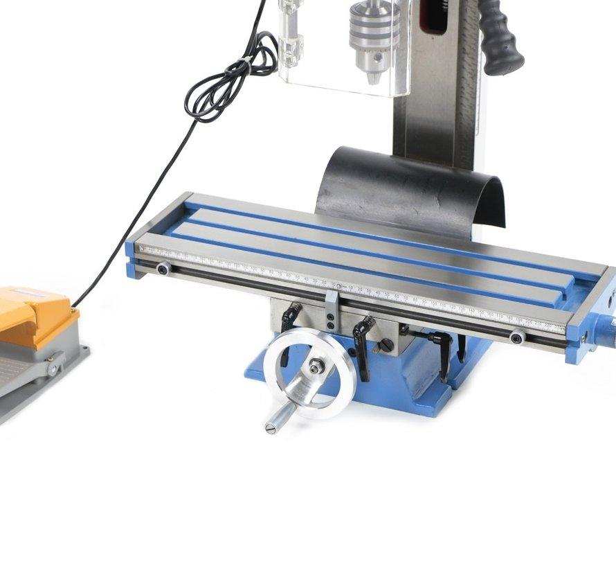 TM BF 16 Fräsmaschine Großer Tisch V2 mit Fußschalter