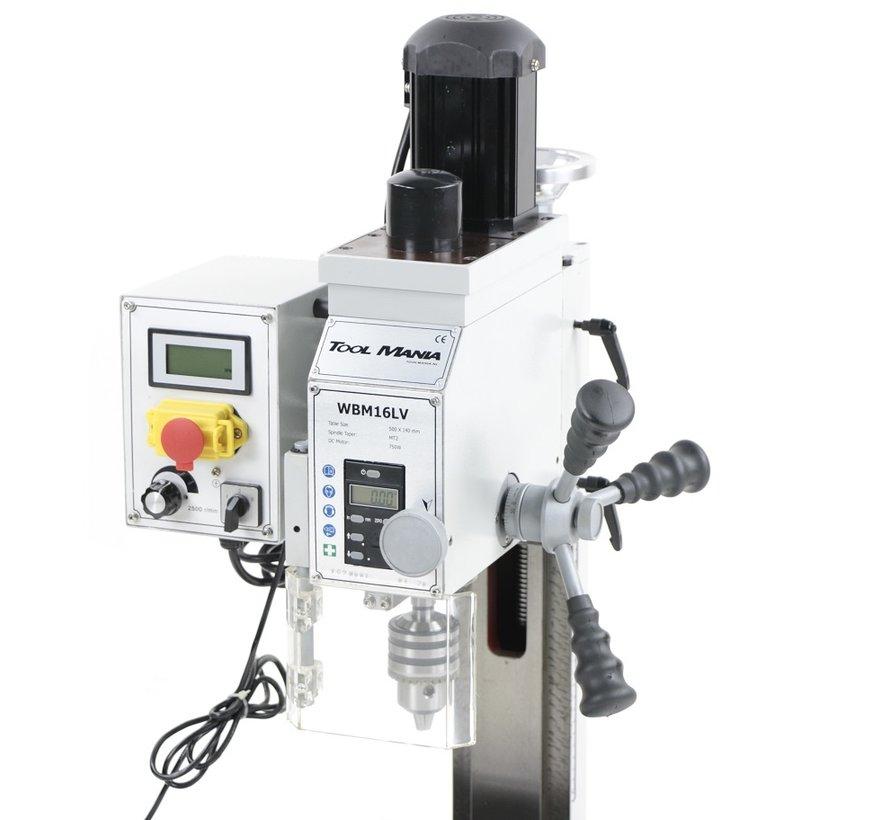 TM BF 16 Freesmachine Grote Tafel V2 met Voetaansturing