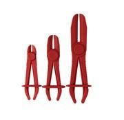 TM TM 3 Piece Flexible Hose Clamp Clamps Set
