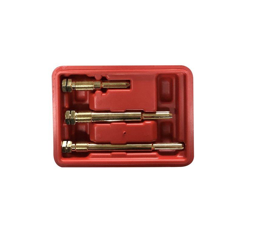 TM 3 Delige Gloeibougie Tappenset M10 - M12