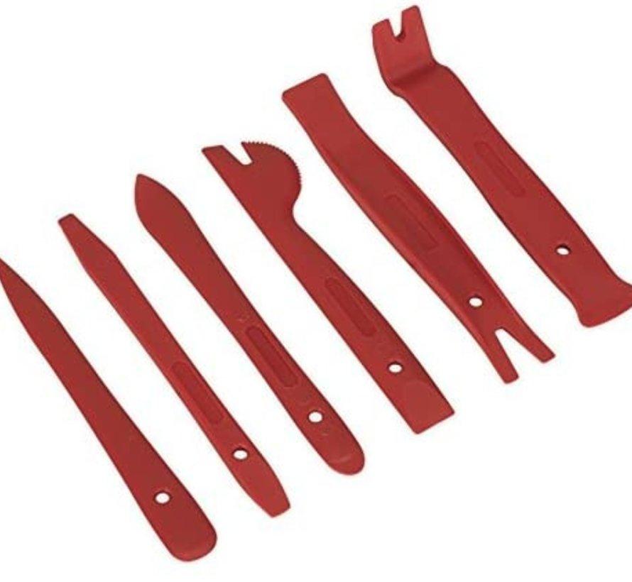 TM 6-teiliges Set für Türverkleidung und Zierleistenentfernung