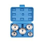 TM TM 5-teiliges Ölfilter-Demontageset - Ölfilter-Sockelset