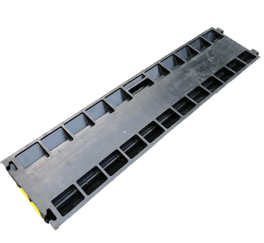 TM 100 cm Kabelbrücke / Kabelrinne mit Abdeckung und 2 Kanälen