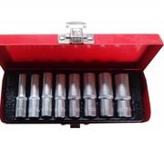 """TM TM 8 Stück 1/4 """"Long Socket Set"""